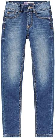 Raizzed Mädchen super Skinny high Waist Jeans Hose Chelsea Dark Blue Stone (146)