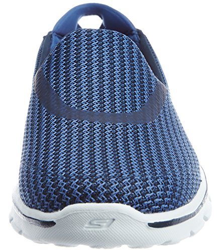 Skechers Go Walk 3, Baskets Basses Femme Bleu (Nvlb)