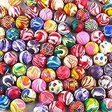Magic Show 20pcs 30mm Superballs Mezclados Super Bouncy Bouncy Ball High Bounce Vending Bolas