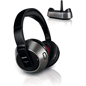 Philips SHC8535 Cuffie Hi-Fi FM Wireless, Nero