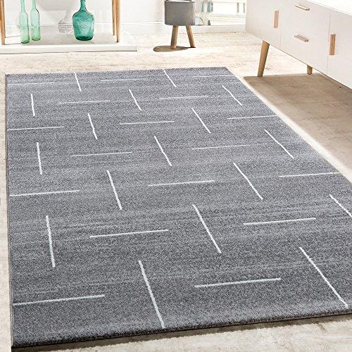 Alfombra De Diseño para Salón Moderna Jaspeada En Turquesa, Gris Y Blanco, tamaño:80x150 cm