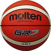 MOLTEN BGR7-OI Balón de Baloncesto, Hombre, Naranja, 7