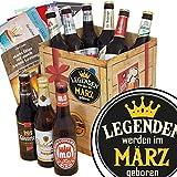 Legenden werden im März geboren | Geschenkset Bier | Bieren aus Ostdeutschland