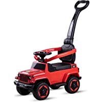 Baybee Baby Ride on/Kids Ride on Toys - Kids Ride On Push Car for Children Kids Toy Car Suitable for Boys & Girls (Red)