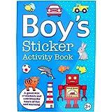 Boys Fun Activity Sticker Book - Best Reviews Guide