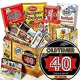 Oldtimer 40 - DDR Süßigkeiten - Lustige Geschenke zum 40.