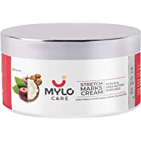 Mylo Care Stretch Marks Cream for Pregnancy with the Goodness of Shea Butter, Saffron, Kokum Butter and Aloe Vera…