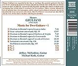 Giuliani:Music For 2 Guitars [Jeffrey McFadden, Michael Kolk] [Naxos: 8572445]