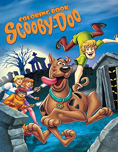 Scooby Doo Coloring Book: Coloring Book for Kids and Adults, Activity Book, Great Starter Book for Children (Coloring Book for Adults Relaxation and for Kids Ages 4-12) por Juliana Orneo
