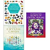 Crystal healer, crystal grids and american indian secrets of crystal healing 3 books collection set