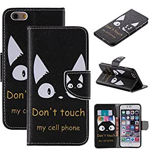 Pengfly PU Leather & TPU Wallet Stand Case Cover Folio Flip Bumper Case For Apple iPhone 5c - 1Z01
