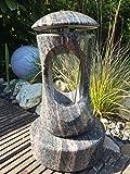 Granitlampe inklusive Sockel Grablampe aus Granit Grablaterne Friedhofslicht Friedhofsleuchte Himalaya