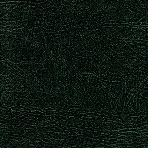 BOTTLE GREEN 54 inch wide Leatherette Vinyl Fabric Fire Retardant Faux Leather Upholstery Material Sold by the metre