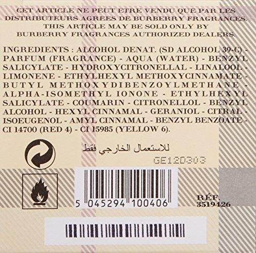 BURBERRY Touch for Women Eau de Parfum 100 ml