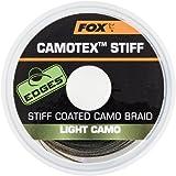 1,00 €//1 m Fox Camotex Stiff pelliculés Camo Braid 35 lb 20 m vorfach Matériau
