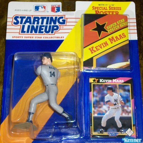 Kevin Maas 1992 Starting Lineup by Starting Line Up Kenner Line