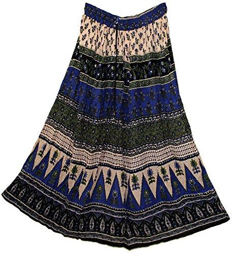 jnb-rayon-skirt-indian-hippy-rock-gypsy-jupe-kjol-retro-boho-falda-women-ehs