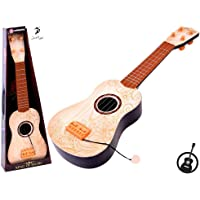 Jack Royal King of Music 4-String Acoustic Learning Kids Guitar Toy (Assorted Color) (Ivory)