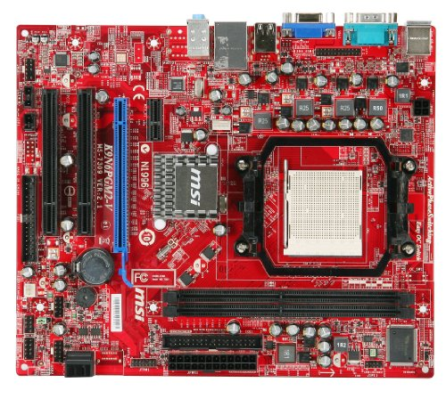 M2-V2 nVIDIA GeForce 6100 Sockel AM2+ DDR2 Speicher PCI-e Micro ATX ()