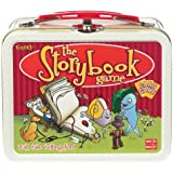 POOF-Slinky 0X4266 Ideal The Storybook Memory Card Game with Mini Collectible Tin Lunch Box Storage Container, 54-Colorfully Illustrated Cards by POOF-Slinky, Inc