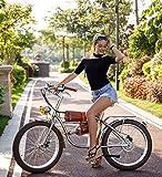 Shengmilo San Milo 24-Zoll-Elektro-Citybike Retro-Elektro-Moped für Herren und Damen