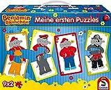 Schmidt Spiele 56179 Benjamin Blümchen, Meine ersten Puzzles im Pappkoffer, 9 x 2