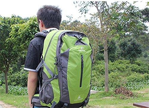 ALUK-borsa a tracolla zaino esterno borsa a tracolla Lesbiche spalle da trekking impermeabili alpinismo borse verde