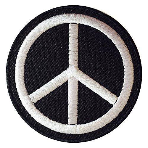 Echter, Empire Eisen auf Peace Zeichen Patch Symbol Sew auf Tuch Jacke Jeans Tasche gesticktes Badge - Jeans Peace-zeichen
