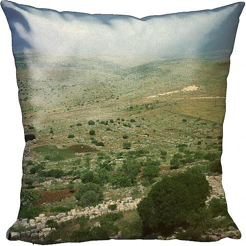 cushion-of-aerial-view-over-the-afrin-valley-with-the-plain-of-amuq-beyond