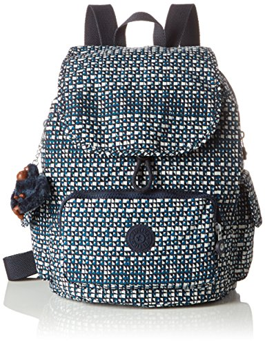 Kipling Pack S, Bolso de Mochila para Mujer, Multicolor (78B City Night), 27x33.5x19 cm (B x H x T)