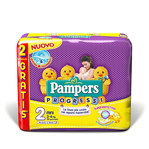 Pampers progress Mini). S 1,00/30 B