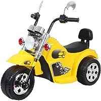 HLX-NMC Super Cruiser Battery Operated Bike for Kids - Yellow