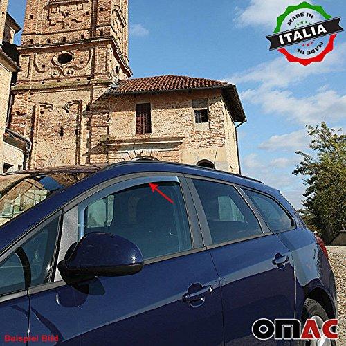 Omac GmbH VW up Skoda Citigo Seat MII Windabweiser Regenabweiser 2 tlg Satz Vorne ab 2012