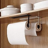 EigPluy 2 pièces Supports Porte Essuie-Tout,Porte-Papier Cuisine, Supports pour Papier Essuie Tout sans Perçage sous…