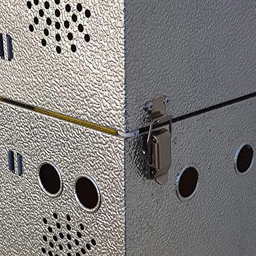 Breker Aluminium Transportkorb 10 Abteilungen - 5