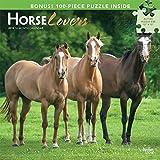 Horse Lovers 2019 Calendar + Puzzles