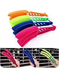 EasyBuy India 1 Pcs New Window Air Conditioner Duster Dirt Clean Cleaner Microfibre Venetian Blind Washable Brush...