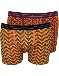 Scotch & Soda 2-Pack Geometric & Feathers Print Boxer Briefs Gift Set