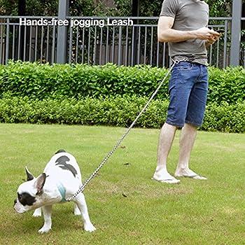 Peteast Multifunktions-hundeleine, Reflektierende 8.3ft Lange Hundetraining Und Walking Leine Für Kleine, Mittlere Und Große Hunde 4