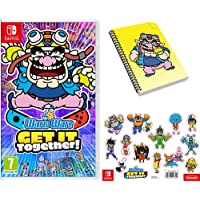 Warioware: Get It Together! (Nintendo Switch) + Notebook + Sticker Sheet