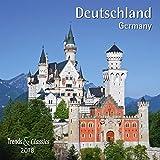 Deutschland Germany 2018 - Broschürenkalender - Wandkalender - mit herausnehmbarem Poster - Format 30 x 30 cm -