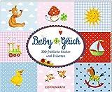 Stickerbuch  BabyGlück: 300 fröhliche Sticker und Etiketten
