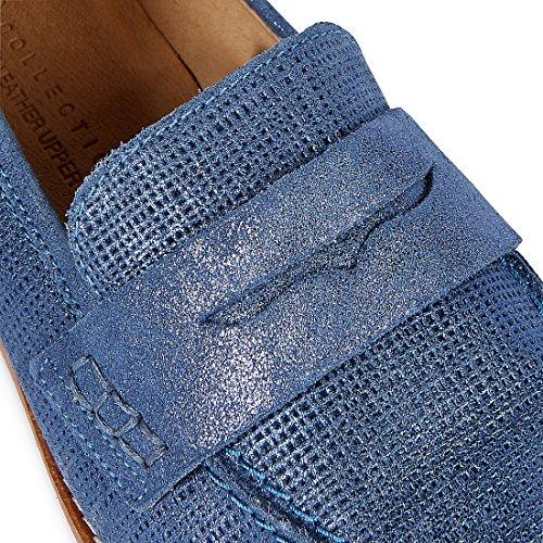 Marks & Spencer - Sandali con Zeppa donna Blue