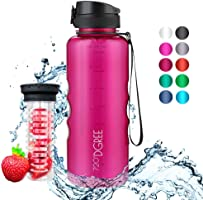 """720°DGREE Trinkflasche """"uberBottle"""" - 1,5 Liter - Deine Lifestyle Wasserflasche - Die Große Sportflasche für Sport, Gym,..."""