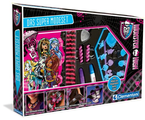 Clementoni 69223.1 - Monster High Das Super Modeset