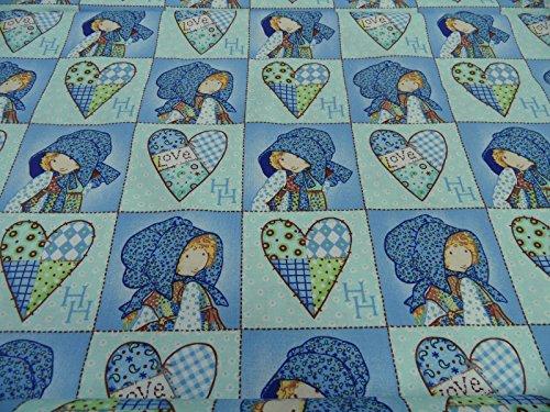 kinderstoff-patchworkstoff-baumwollstoffe-holly-hobbie-neu-2014-50-x-110-cm