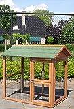 Anbau-Auslauf Holiday Medium mit Nagerschutz 110x80x103cm