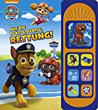 PAW Patrol - Auf die Plätze, fertig, Rettung! -Soundbuch - Nickelodeon - Pappbilderbuch mit 7 Geräuschen für Kinder ab 3 Jahren
