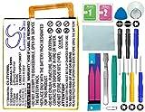 Cameron Sino Akku 2500mAh Li-Polymer passend für ZTE Blade V7, V7 Lite Dual SIM, Blade A2, BV0720, Small Fresh 4 Dual SIM LTE, ersetzt ZTE Li3825T43P3h736037 mit 14 in 1 Reparatur Werkzeug Set Kit
