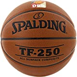 Spalding Basketball TF250 DBB In/out 74-592z Ball, orange 5